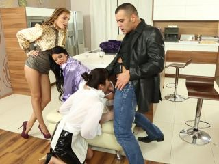 Anal Offence #1, Scene 1 - Sonia Black, Marika Hase, Sophie Lynx-3