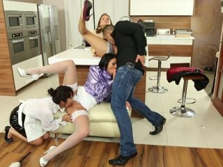 Anal Offence #1, Scene 1 - Sonia Black, Marika Hase, Sophie Lynx-4