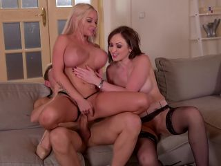 Naughty 3somes #14, Scene 1 - Rachele Richey, Yasmin Scott-3