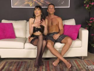 Judy Jolie - Judy Loves Fucking In Her Sexy Black Lingerie LIVE!-6