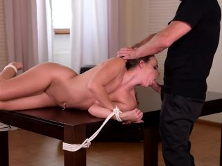 Tied Up and Assfucked, Scene 3 - Amirah Adara-4