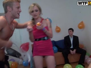 Awesome B-day party orgy movie-7