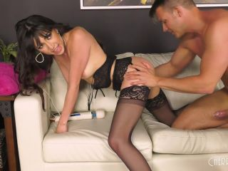 Judy Jolie - Judy Loves Fucking In Her Sexy Black Lingerie LIVE!-7