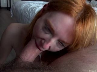 Lacy Lennon - Ravishing Redhead Lacy Lennon Seductively Stares At You While Sucking Manuels Dick - ManuelFerrara (SD 2020)-6