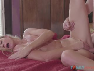 India Summer (Blonde milf India Summer fucks her big cock stepson / E67)-8