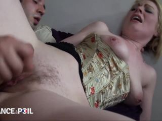 [NUDEinFRANCE / laFRANCEaPoil] Marion Moon ( Sexy and naughty hairy milf gets her ass pounded / 24.09.15)-6